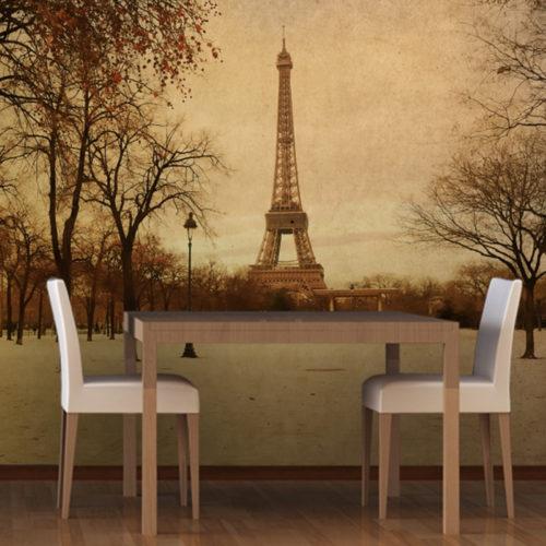 Vintage-Paris-Mural-Wallpaper-Room